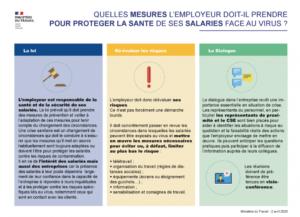COVID-19 et les obligations de protection de l'employeur envers ses salariés